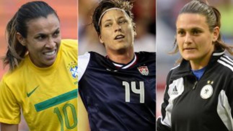 Estas tres futbolistas son las candidatas finales al Balón de Oro femeni...
