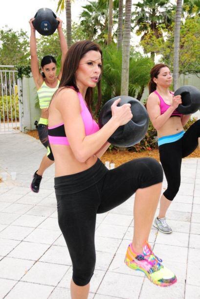 Aseguraron ser buenas para el ejercicio y cuando llegó la clase con Clau...