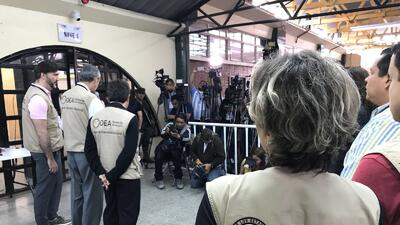 The OAS mission in Honduras announced Sunday it could not verify the res...