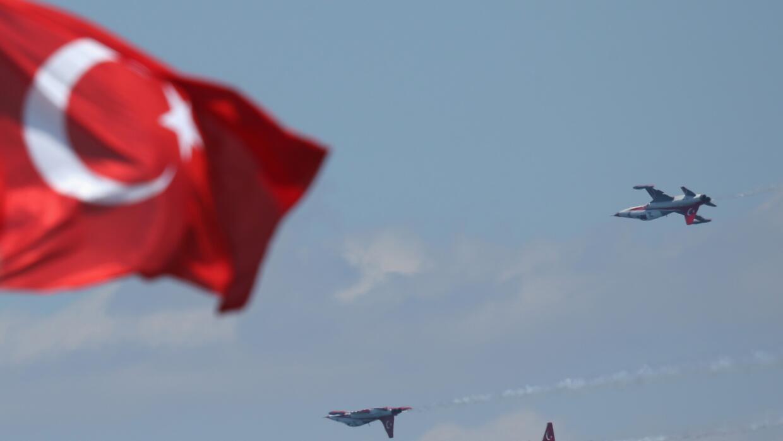 Espacio aéreo turco.