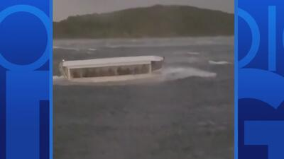 Confirman la muerte de 17 personas por el accidente de un bote turístico en Missouri