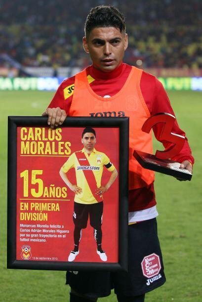 -Carlos Adrián Morales, jugará su liguilla número 24. El veterano jugado...
