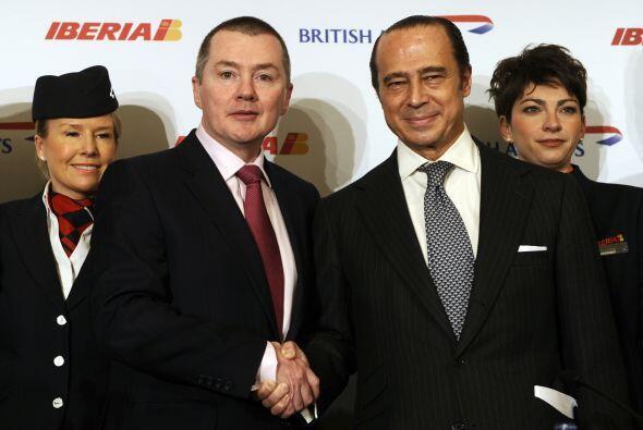 Los accionistas de British Airways e Iberia aprobaron la fusión d...