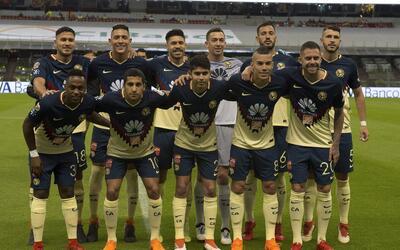 Con 21 puntos, América es cuarto general en la Liga MX.