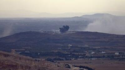 Espacio aéreo de Siria.