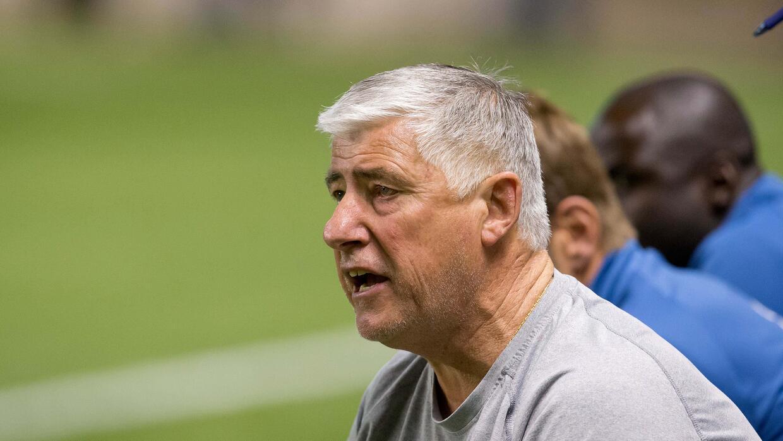Sigi Schmid, durante su período como entrenador de Seattle Sounders.