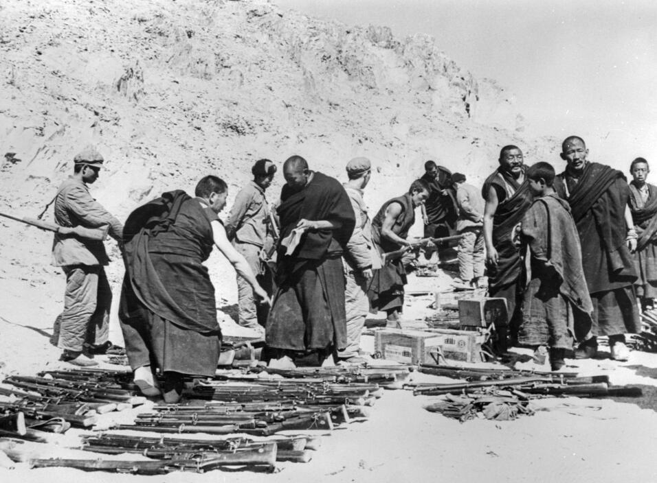 Invasión al Tibet