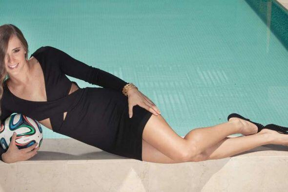Nicole Regnier es la hermosa crack colombiana de sólo 19 años que juega...