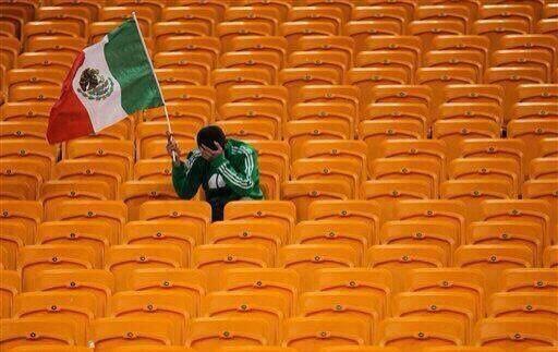 Porque México ya no está en el Mundial.