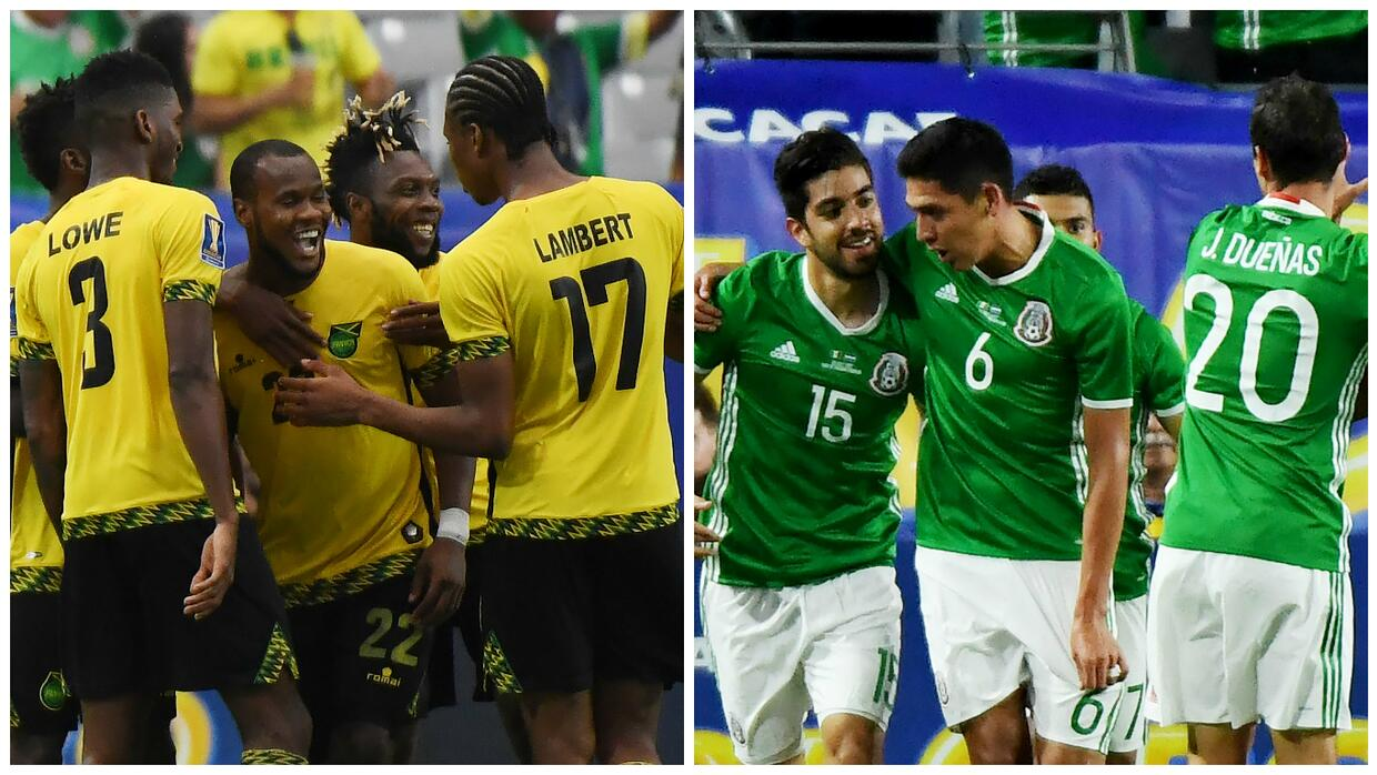 Jamaica will be strong opposition to Mexico.
