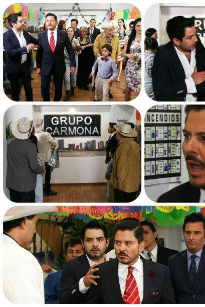 Sí Santiago, tu empresa ya no es Velasco, ¡ahora es el Grupo Carmona!