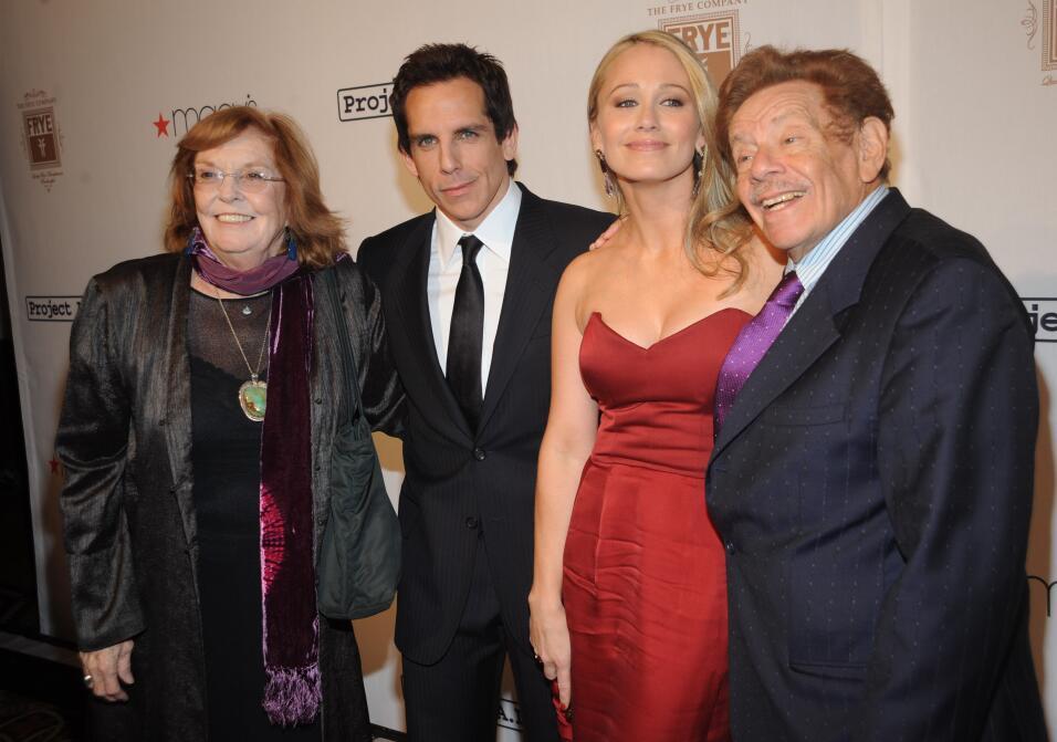 Murió la mamá de Ben Stiller