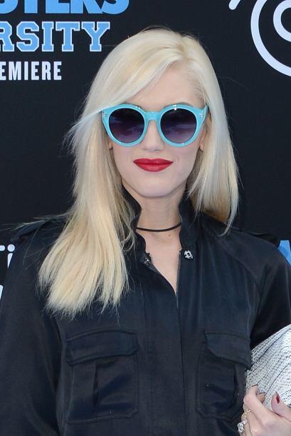 Gwen Stephani es sinónimo de modernidad, su cabello siempre luce impecable.