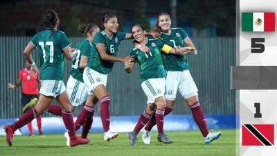 Tri Femenil debutó con goleada en Juegos Centroamericanos