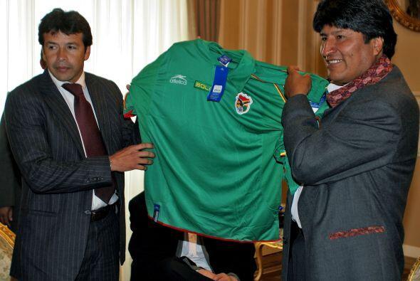 Por ahora la selección boliviana carece de entrenador oficial, por lo ta...