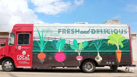 Munchie Machine es el 'food truck' del distrito escolar de Boulder.