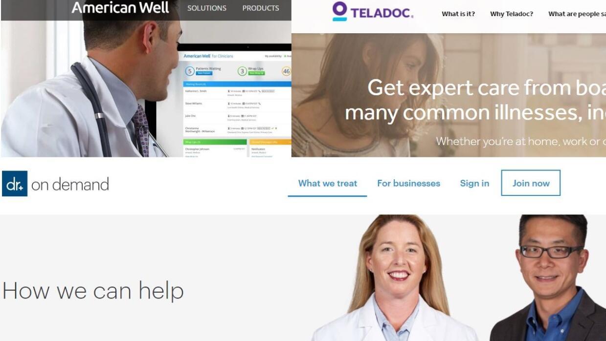 Proveedores de telemedicina están ofreciendo sus servicios sin costo alg...