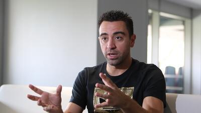 Xavi no descarta dirigir a Catar en el Mundial 2022