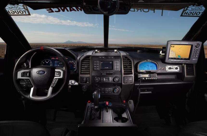 "Ford F-150 Raptor 2017 llega a ""Best in the Desert"" Raptor-Interior-02-C..."