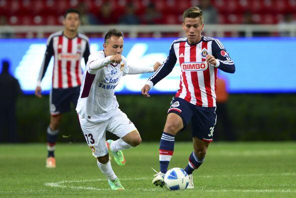 Fernando González (5).- Con el marcador 4-0 y faltando 10 minutos, no ha...