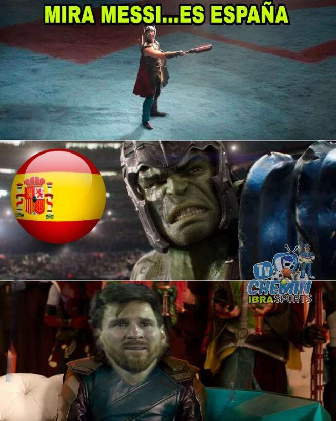 No solo fue España, los memes también le dieron una goliza a Argentina 2...