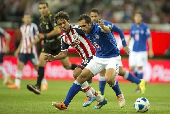 El duelo entre Chivas y Cruz Azul ha ido por el mismo rumbo, con 7 empat...