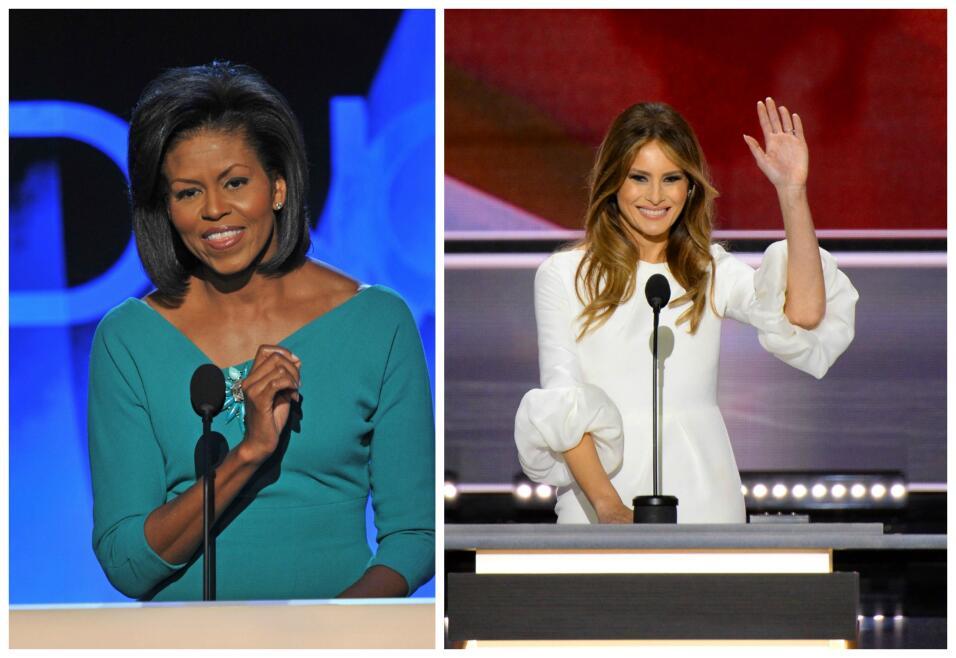 Las coincidencias entre el discurso que dio Michelle Obama en la Convenc...
