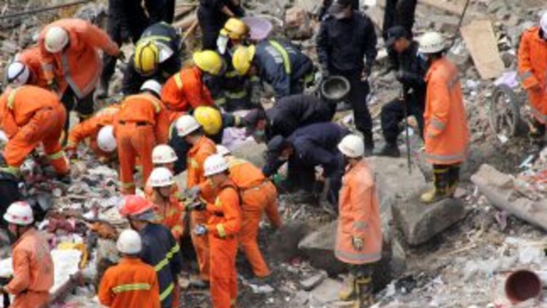 Al menos veinte personas murieron en una explosión que se produjo en un...