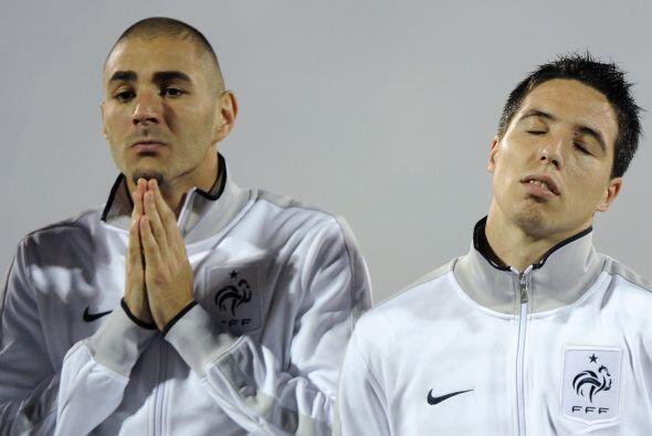 Los franceses jugaron ante Albania. No sé ustedes, pero nosotros no vemo...