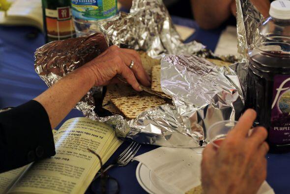 El Community Passover Seder en la sinagoga Beth Israel ha servido a unas...