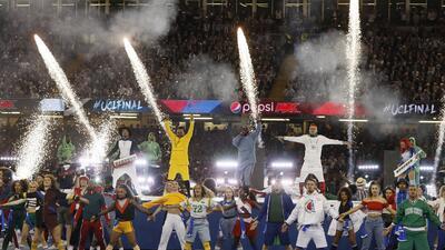 Black Eyed Peas amenizó la final de la Champions League en Cardiff