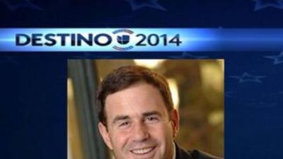 Doug Ducey es el candidato republicano para gobernador de Arizona.