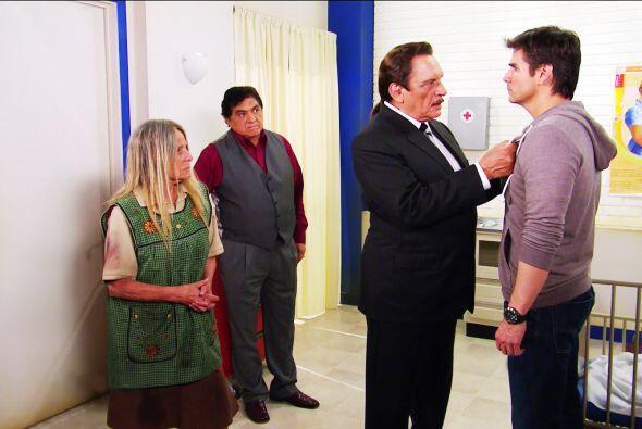 Cálmese don Fernando, Pablo sería incapaz de hacer una canallada así.