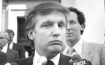 Donald Trump en los años 80. Según un reportero de la revi...