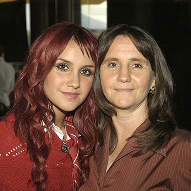 Dulce María y su mamá