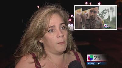 Habla mujer que detuvo a policía por exceso de velocidad