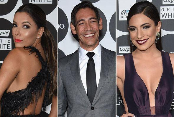 Eva Longoria, Johnny Lozada, Ana Brenda Contreras también dijeron presen...