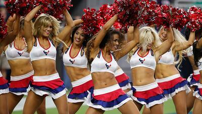 Conoce a las chicas que apoyarán a los Texans en su camino al Super Bowl