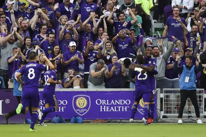 Así se vivió la fiesta de la inauguración del nuevo estadio de Orlando C...
