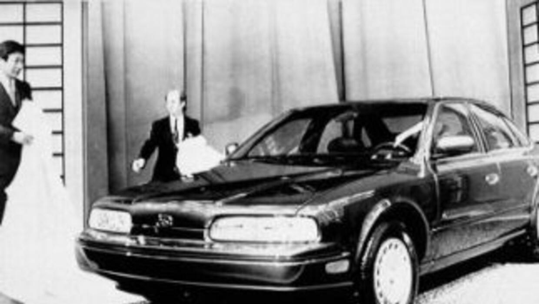 El primer Q45 estaba basado en el Nissan President que sólo se vendía en...