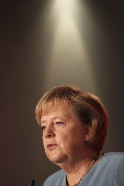 La canciller alemana Angela Merkel también integra la lista de mujeres i...