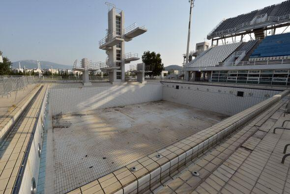 En claro abandono se encuentra el centro acuático.