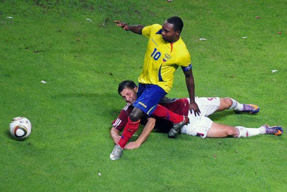 Por su parte la selección ecuatoriana no estuvo muy acertada y dejó una...