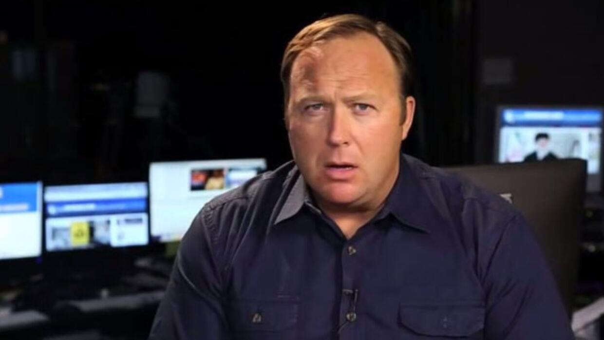 Alex Jones, fundador de Infowars