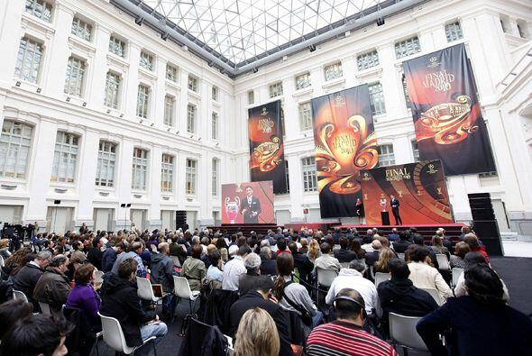 El Palacio de Cibeles fue el recinto que recibió el máximo premio para u...