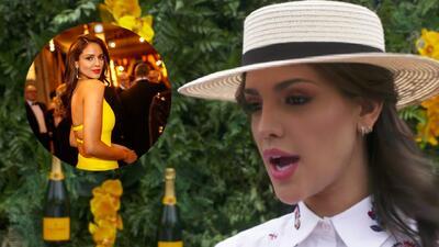 Eiza González confesó el significado del amarillo que vistió para el Oscar