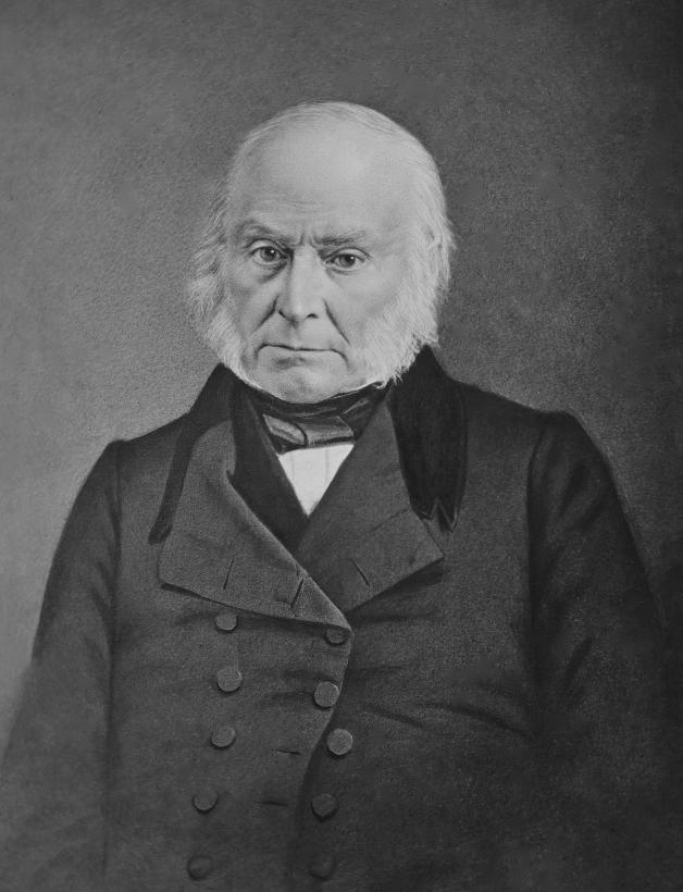Se dice que John Quincy Adams (1767–1848) le gustaba nadar desnudo a las...