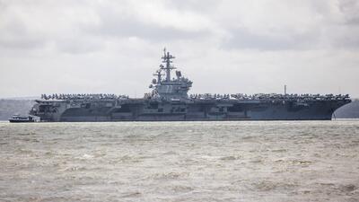 Portaaviones George H. W. Bush tiene la mayor tripulación femenina en la historia de EEUU