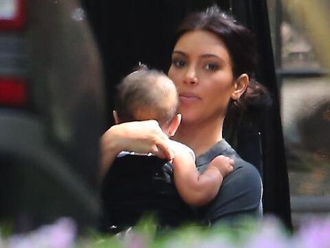 Kim llevó a la pequeña North a una fiesta de cumplea&ntild...