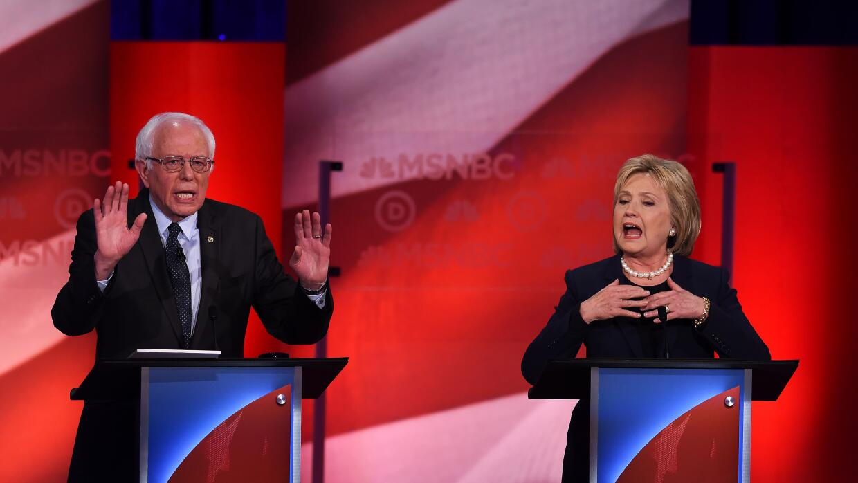 Las cinco claves del debate demócrata antes de New Hampshire sandersycli...